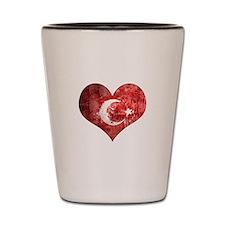 Turkish heart Shot Glass