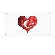 Turkish heart Banner