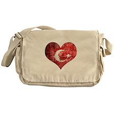 Turkish heart Messenger Bag