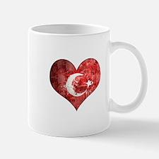 Turkish heart Mug