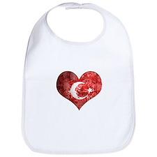 Turkish heart Bib