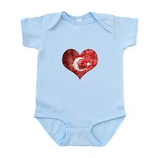 Turkish heart Onesie