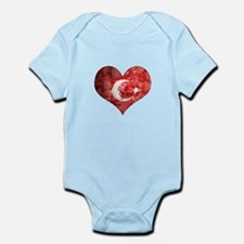 Turkish heart Onesie