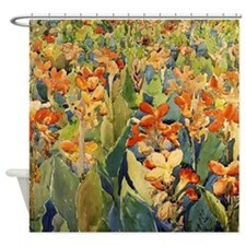 Maurice Prendergast Bed Of Flowers Shower Curtain