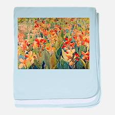 Maurice Prendergast Bed Of Flowers baby blanket