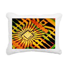 Computer microchip - Pillow