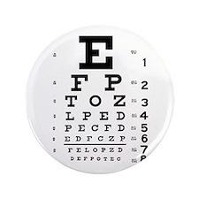"Eye Chart 3.5"" Button"