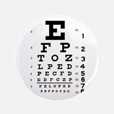 "Eye Chart 3.5"" Button"