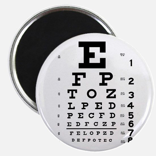 Eye Chart Magnet