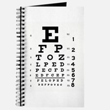 Eye Chart Journal
