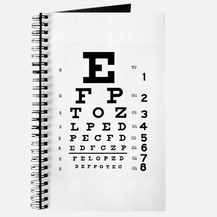 Eye Chart Journal