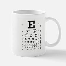 Eye Chart Small Small Mug