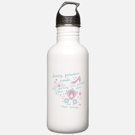 Every princess needs Sports Water Bottle
