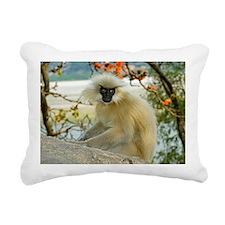 Golden langur monkey - Pillow