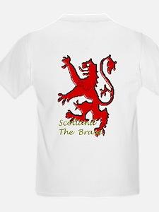 Scots Lion Rampant Caledonia T-Shirt