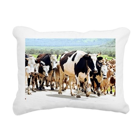 Herd of cows and goats - Pillow