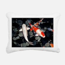 Koi carp in a pond - Pillow