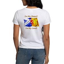 Scots Lion Rampant Caledonia Tee