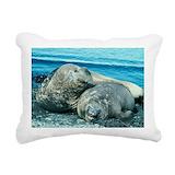 Southern elephant seal Rectangle Canvas Pillows