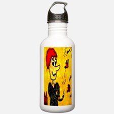 Comic Character Trouble Water Bottle
