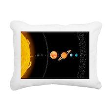 Solar system planets, artwork - Pillow