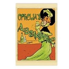 1890s Style Ophelia's Absinthe Postcards (Package