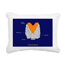 Thyroid gland, artwork - Pillow