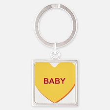 conversation heart - baby Keychains