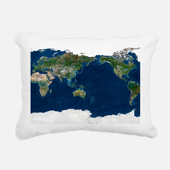 Whole Earth, satellite image - Pillow