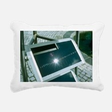 View of an amorphous solar cell - Pillow
