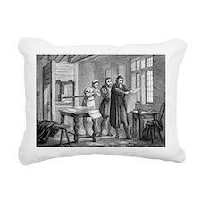 Johann Gutenberg, German inventor - Pillow