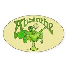 Fairy In Glass Absinthe Decal