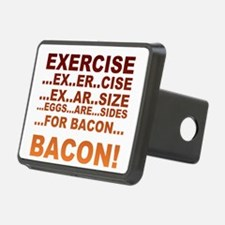 Exercise bacon Hitch Cover
