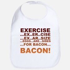 Exercise bacon Bib
