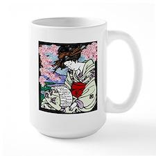 Cherry Blossom Geisha Mug