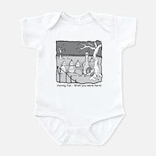 """""""Having fun..."""" Infant Bodysuit"""