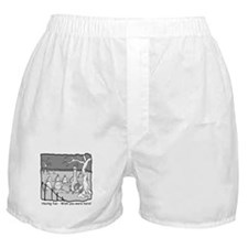 """Having fun..."" Boxer Shorts"