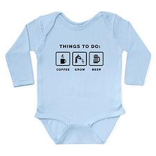 Gardening Long Sleeve Infant Bodysuit