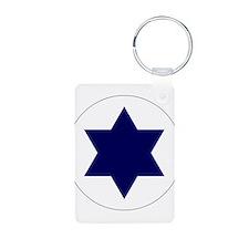 Israeli AF roundel Keychains