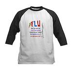 Flu Epidemic-Pandemic? Kids Baseball Jersey