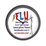 Flu Epidemic-Pandemic? Wall Clock