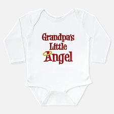 Grandpas Little Angel Long Sleeve Infant Bodysuit
