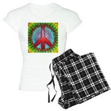 Abstract Peace Sign Pajamas