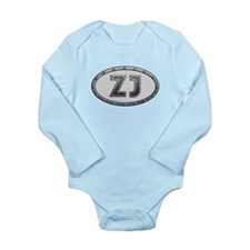 ZJ Metal Long Sleeve Infant Bodysuit