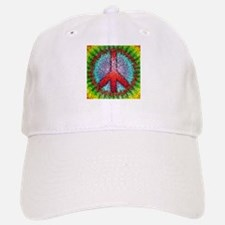 Abstract Peace Sign Baseball Baseball Cap