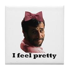 Gay Ahmadinejad Tile Coaster