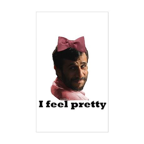Gay Ahmadinejad Rectangle Sticker