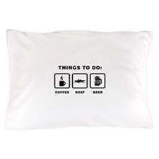 Boating Pillow Case