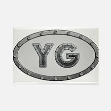 YG Metal Rectangle Magnet