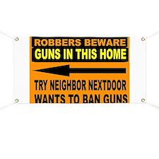 GUN SIGN Banner